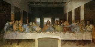 Картина Тайная вечеря Леонардо да Винчи Описание картины Леонардо да Винчи Тайная вечеря
