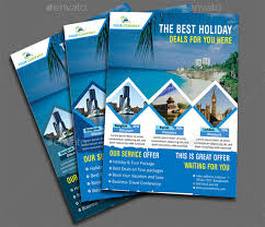 Sample Flyers For Travel Agency Free Flyer Templates On Travel