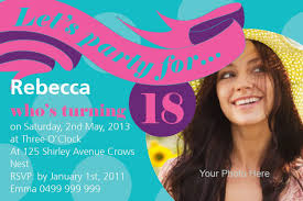 Design Your Own 18th Birthday Invitations 18th Birthday Invitation Templates Free Download In 2020