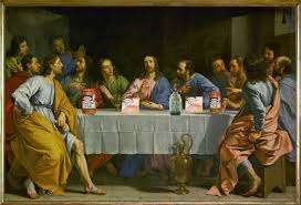 last supper painting michelangelo michelangelo last supper the actual painting of the last supper