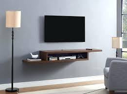wall mounted tv shelves ascend asymmetrical component shelf ikea