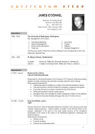 International Resume format Doc Unique Sample International Resume