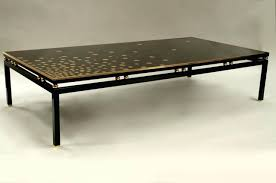lacquer coffee tables large black lacquer coffee table with gilt brass for 2 asian black lacquer coffee tables