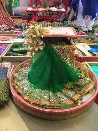 Saree Tray Decoration Mehendi sari Bangladeshi wedding Tanzir Weds LubnaBengali 17