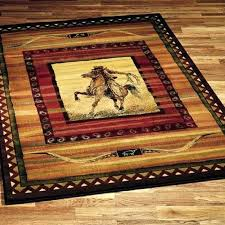 western style area rugs western style area rugs western area rugs rawhide cowboy riding horse southwestern western style area rugs