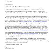Engineering Cover Letter Example Sample Internship Resume Creative