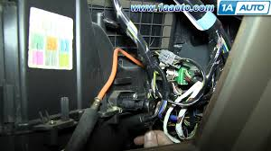 how to install replace blower motor resistor ford f how to install replace blower motor resistor 2004 10 ford f150