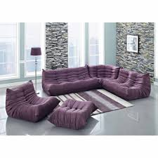 Sofas Center : Alan White Sofa And Purple Loveseatt Darkctional with regard  to Eggplant Sectional Sofa