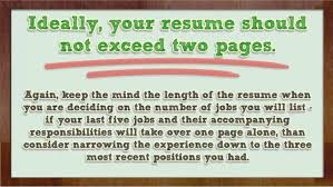 How To List Your Experience On Your Resume Youtube