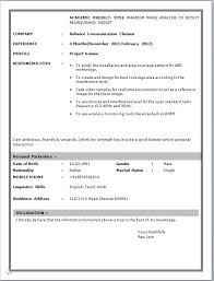Free Fresher Resume Format Download