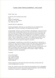 Email Letters Format Cover Letter Sent Via Email Business Letter ...