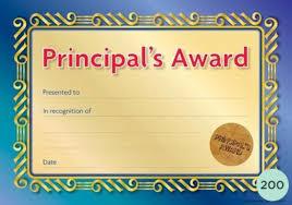 Principal Award Certificate Principals Formal Seal Award Certificates Pack Of 200