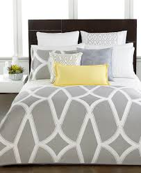 Modern Bedroom Comforters Closeout Hotel Collection Modern Lancet Bedding Collection Only