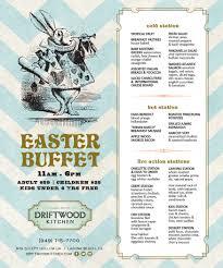 driftwood kitchen menu