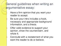 the argumentative essay review 10