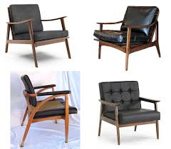 mid century modern style furniture. mid century modern black leather chairs more or less american dream builders episode style furniture u