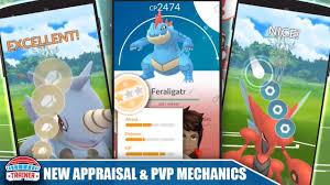 FIRST LOOK - NEW UPDATE! IMPROVED APPRAISAL SYSTEM & NEW PVP CHARGE ATTACK  MECHANICS
