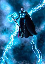 Thor Ragnarok Lightning 4k Wallpaper