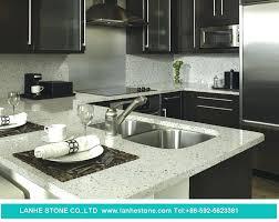 kitchen of crystallized glass stone white quartz countertops best html