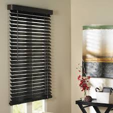 dark wood blinds.  Blinds TRISTAN FAUXWOOD BLINDS  Dark Brown 33 X 46 And Wood Blinds W