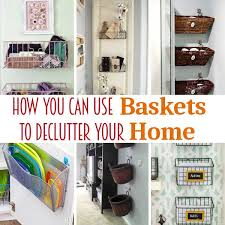 you can literally use them in any room of your home and you can organize just about everything with them today i m sharing several uses for baskets in