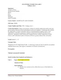 Cover Letter For Chef Job Mall Security Guard Sample Resume