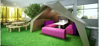 cool office space designs. cool office design ideas tent meeting area for informal meetings space designs