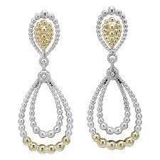 classy sterling silver chandelier earrings vahan and 14k yellow gold earring findings