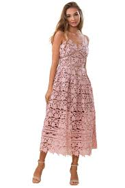 Self Portrait Size Chart Rent Self Portrait Blush Pink Azaelea Dress The Mode Dubai