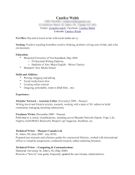 Resume Headers Resume For Your Job Application