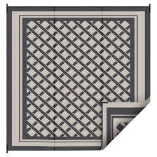 outdoor rug black 9 x 12