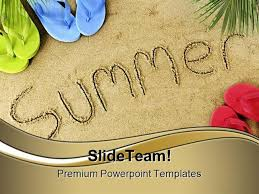 Summer Powerpoint Templates Summer Holidays Powerpoint Templates And Powerpoint