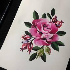Art Flowers Flowerstattoo 6 Tattootattooideas татуировки