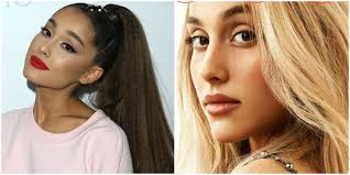 ariana grande is unrecognizable without her ponyl on british vogue allure