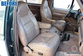So i have been looking around the web and haven't found an answer yet. 92 96 Bronco Eddie Bauer Passenger Bottom Replacement Leather Seat Cover Gray Ebay