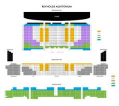 2019 2020 Reynolds Seating Chart Winston Salem Symphony