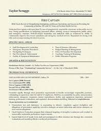 Fireman Resume Example Pinterest Resume Examples Firemen And