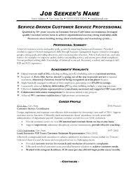 Service Resume Sample Cool Sample Cv For Customer Service Representative Resume Wording