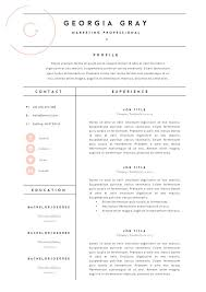 Fashion Resume Templates Adorable Fashion Resume Templates Fashion Resume Template Best 28 Fashion