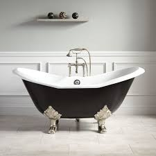 floating shelf and interior paint color with slipper tub also wall panel and freestanding tub filler