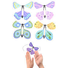 <b>Magic flying butterfly Surprising</b> Gift Wind up <b>Magic</b> Kids Toy ...