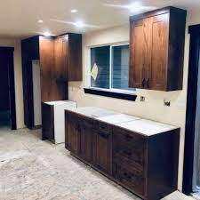 Wood glue, nails, screws, dowels, and other fasteners are all used to create finished furniture and cabinets. Custom Wood Cabinet Makers Near Me In Boise Id Big Wood Cabinets
