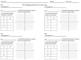 linear table diffe linear verbal situations come up with equation table graph