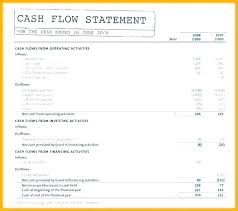 Personal Cash Flow Statement Template Excel Cash Flow Template Family Household Statement Gdwebapp Com