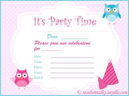 Print Out Birthday Invitations Birthday Invitations Isura Ink 18