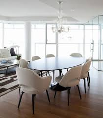 awesome selection of saarinen oval dining table. Furniture: Contemporary Dining Room Saarinen Table Arm Chair With Wood Legs And Oval Tulip Plus Chandelier, Kitchen Saarinen, Awesome Selection Of A