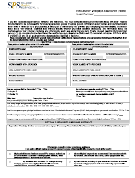 Sps Rma Loan Modification Forms Check List And Package Pdf