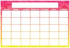 Geo Abstract Calendar Smart Chart Top Notch Teacher