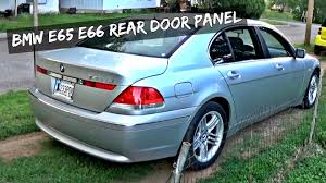 All BMW Models 2007 bmw 745li : How to Remove Rear Door Panel on BMW E65 E66 740i 745i 750i 740d ...