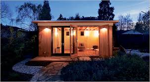 Office shed plans Backyard Entertainment Cant Beat The Commute The New York Times Key Magazine Real Estate Housing Homesteads Sheds The New